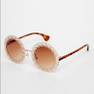 ASOS filigree Roy d sun glasses